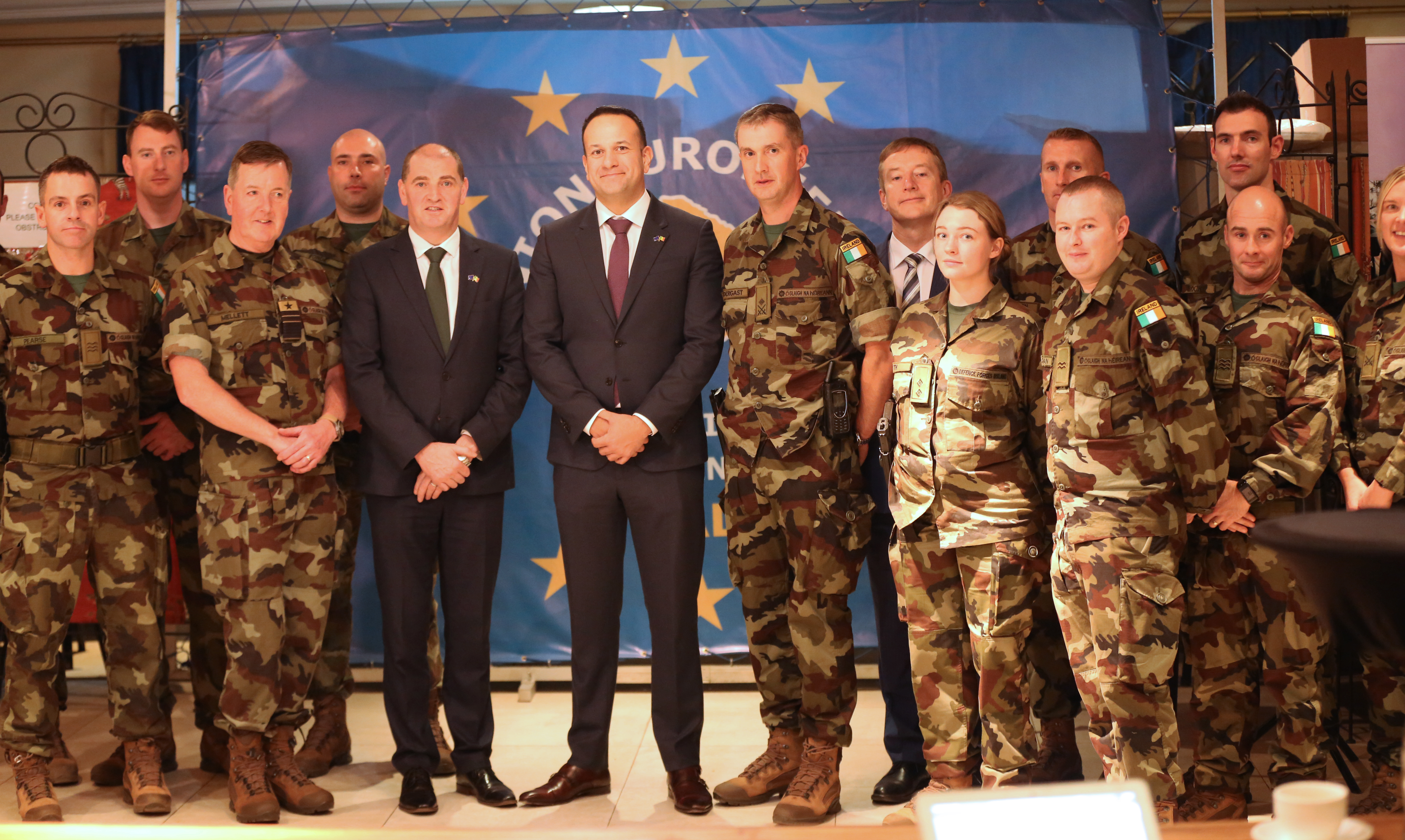 An Taoiseach visits EU Training Mission to Mali