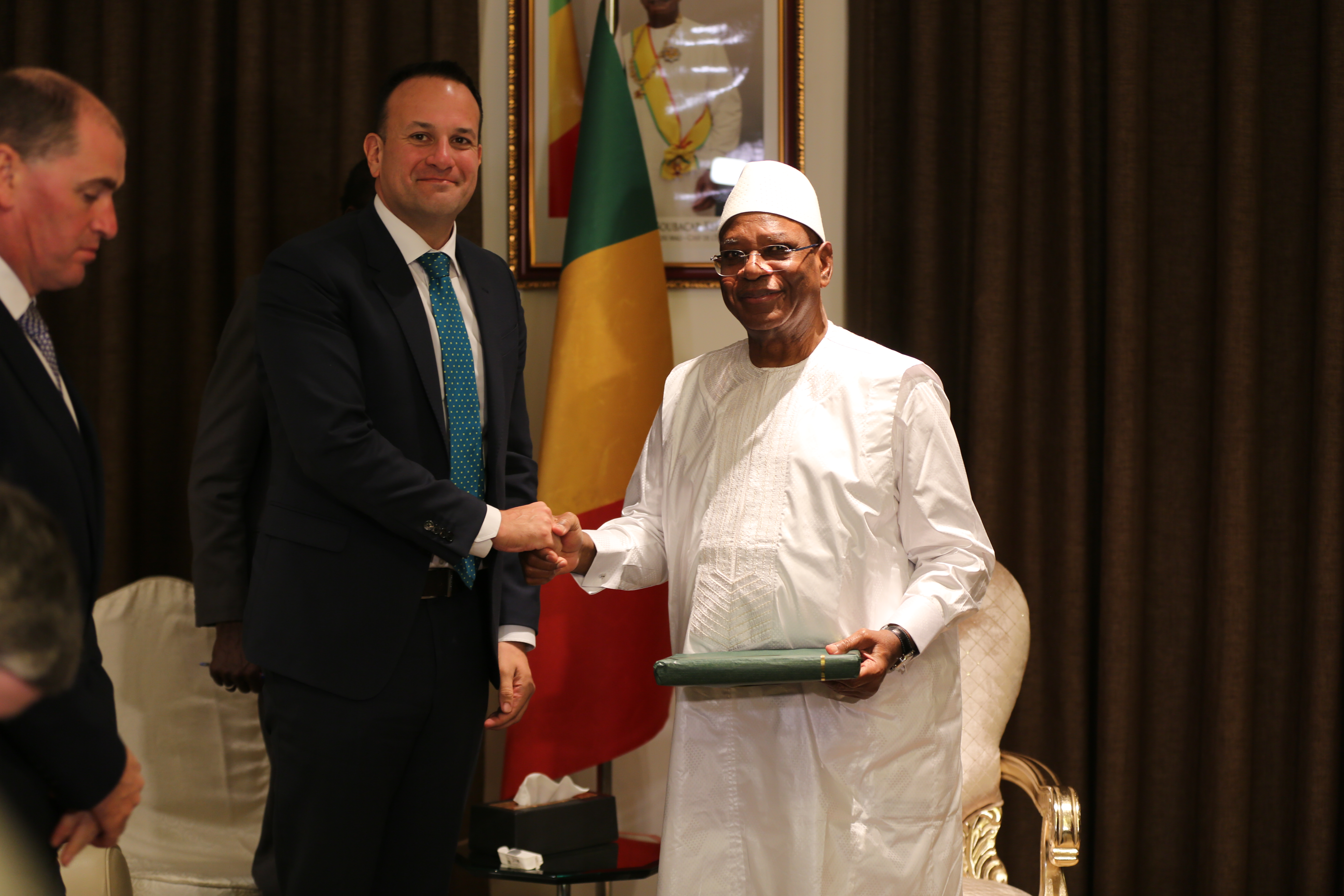 An Taoiseach meeting the President of Mali