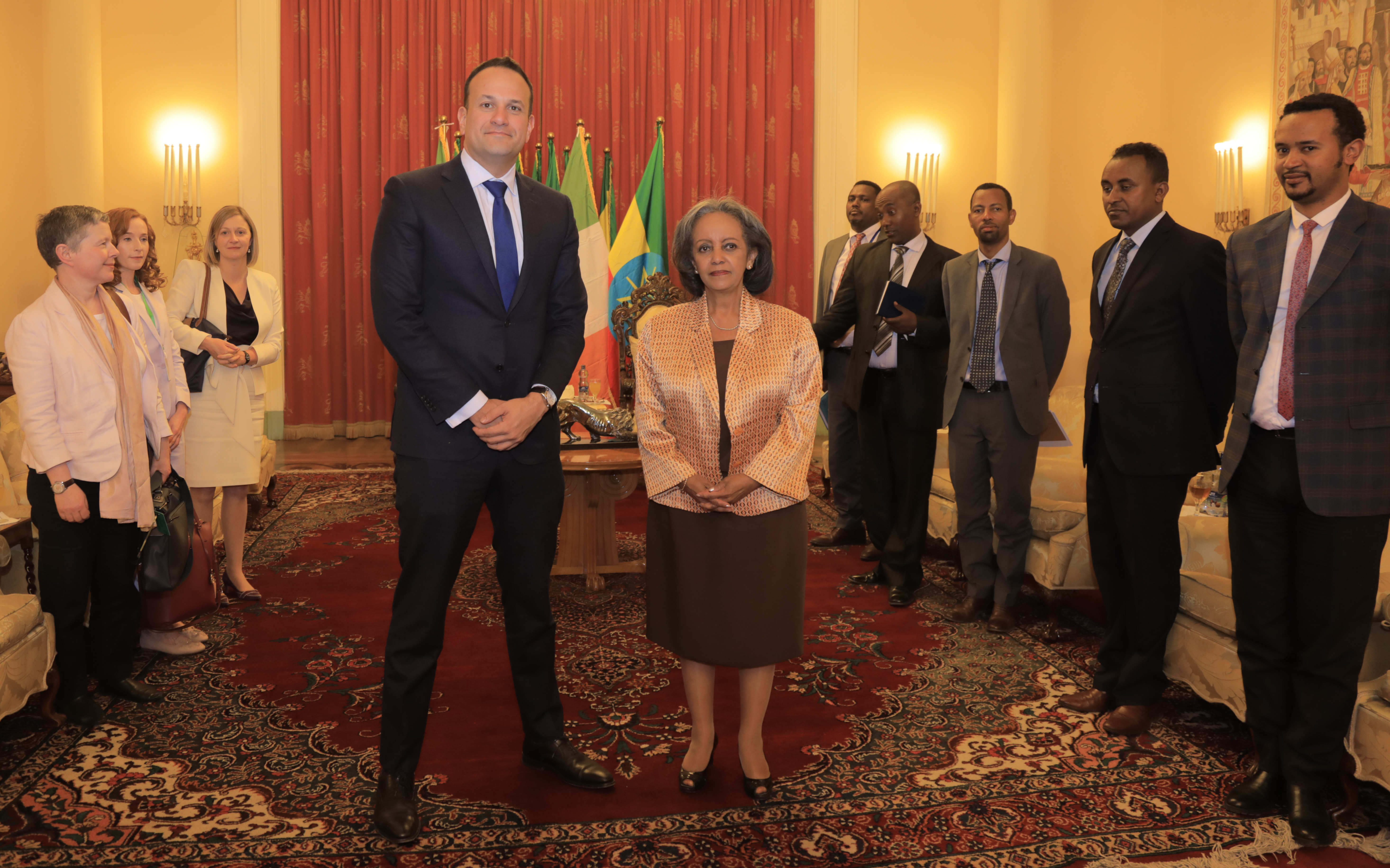 An Taoiseach meeting the President of Ethiopia
