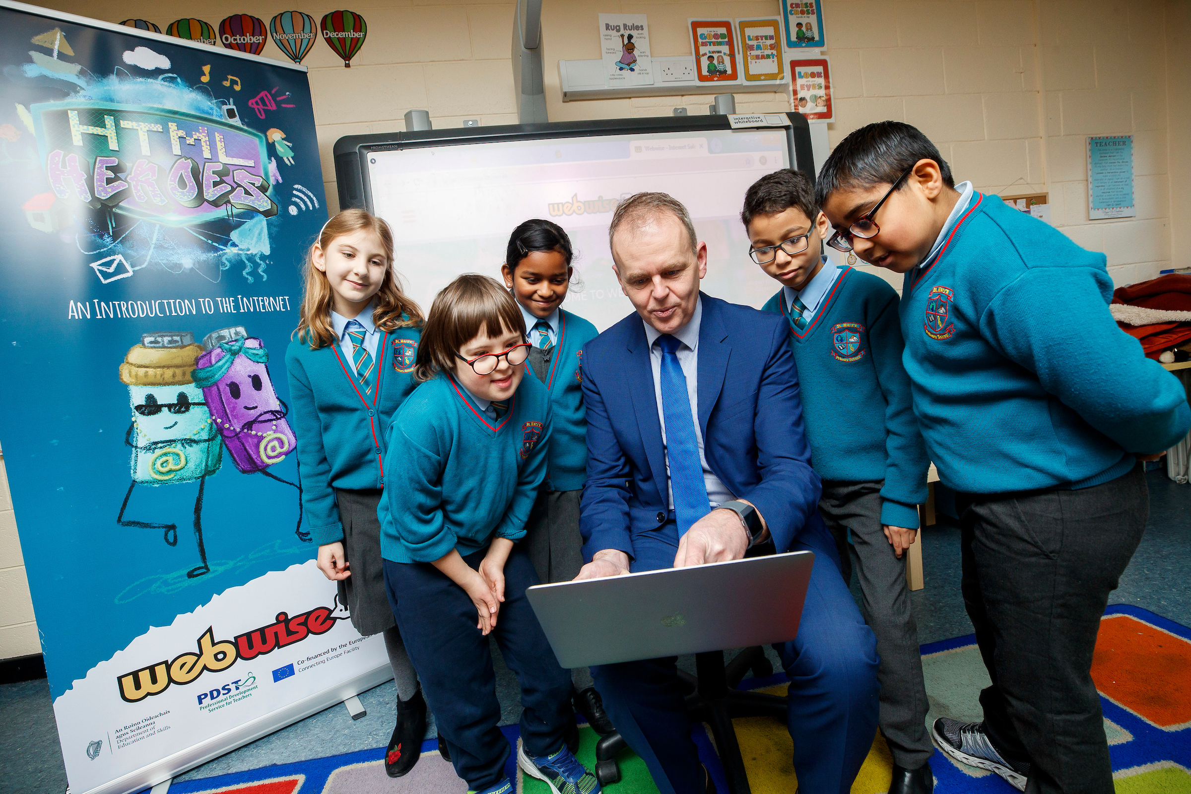 Webwise reports 25% increase in use of its resources by schools and parents