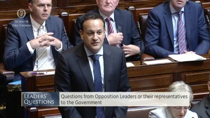 Leaders' Questions 30th May 2018