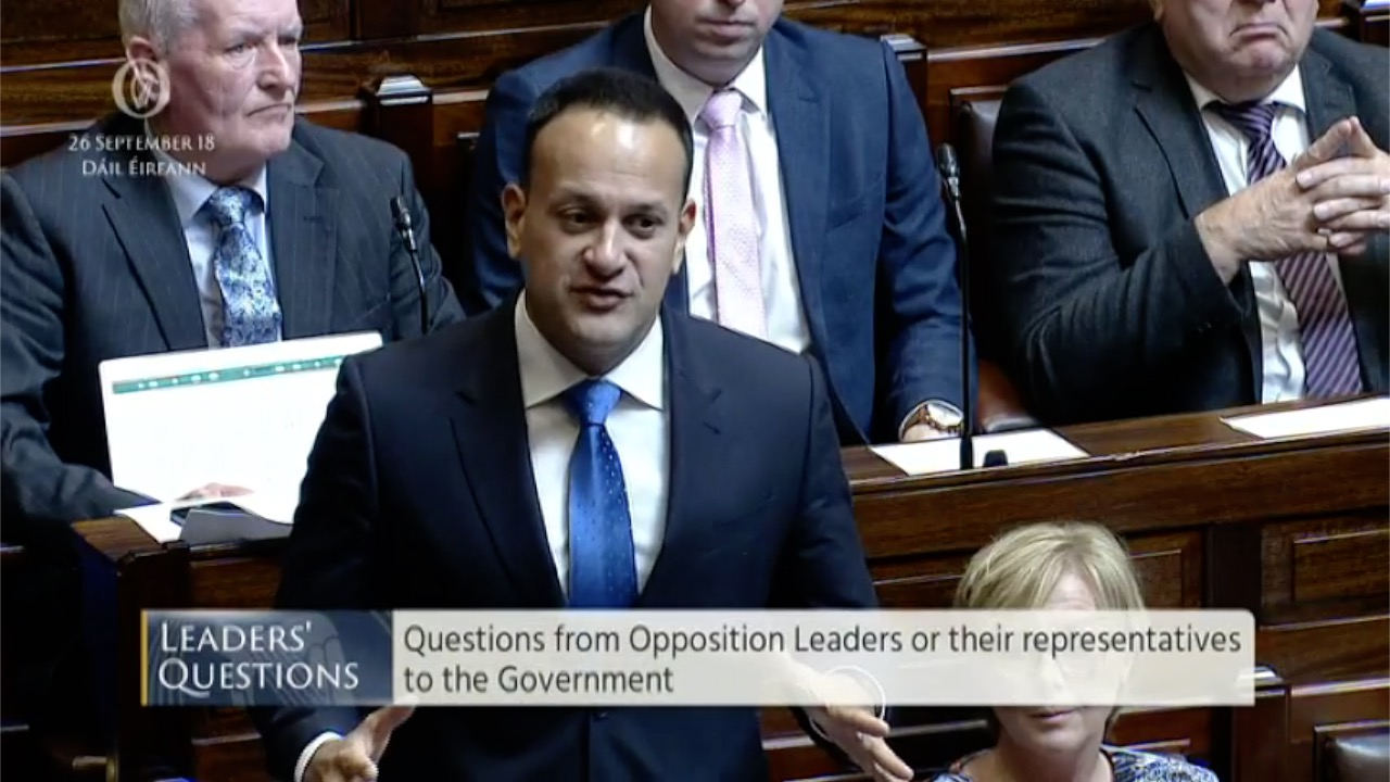 Leaders' Questions 26th September 2018