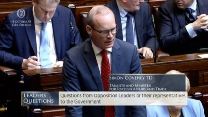 Leaders' Questions 18th October 2018