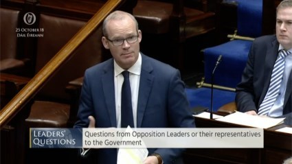 Leaders' Questions 25th October 2018