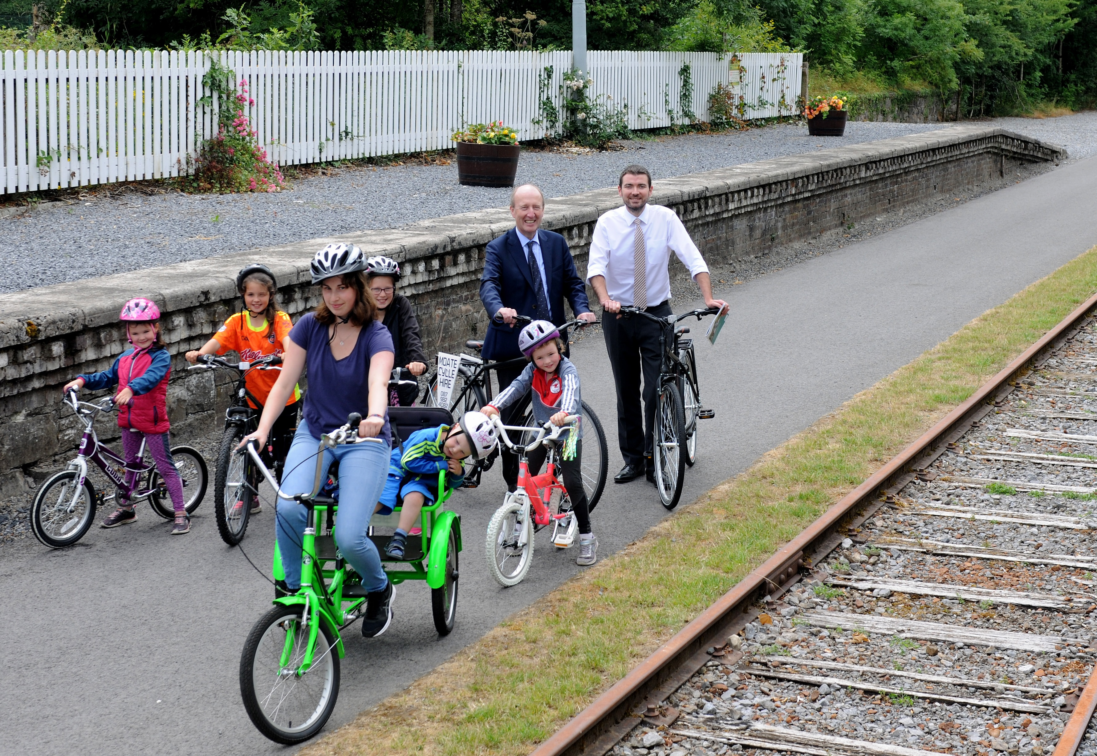 Minister Ross and Griffin announce the launch of Bike Week 2019 along with Greenway funding of €40 million