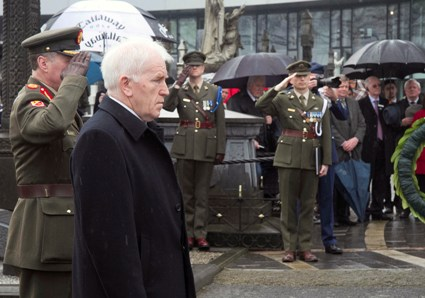 Minister Deenihan at the commemoration ceremony today