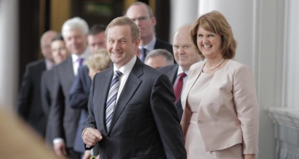 Taoiseach & Tánaiste a fhógairt ceapadh na hAirí Rialtais nua