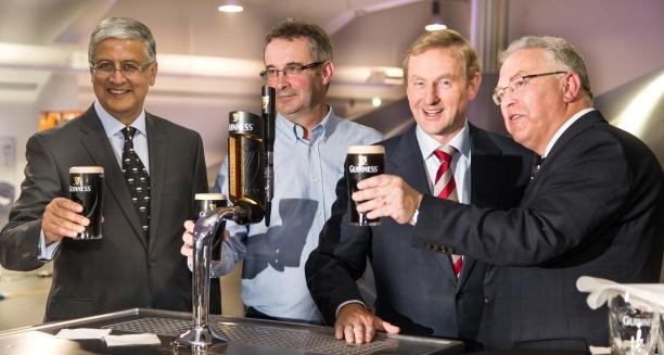 Taoiseach Enda Kenny Opens New Guinness Brewery