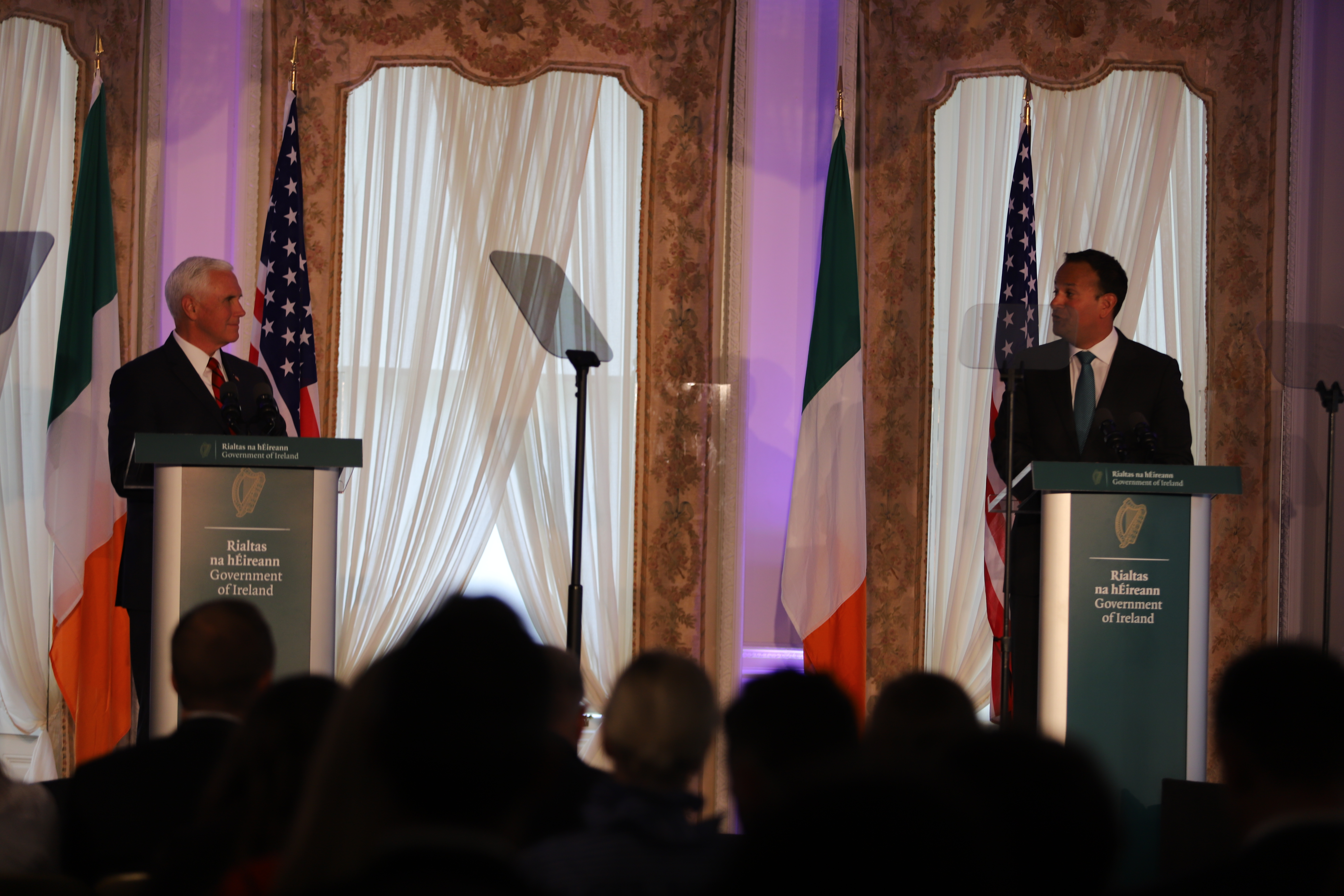 Taoiseach and Mike Pence 03.09.19