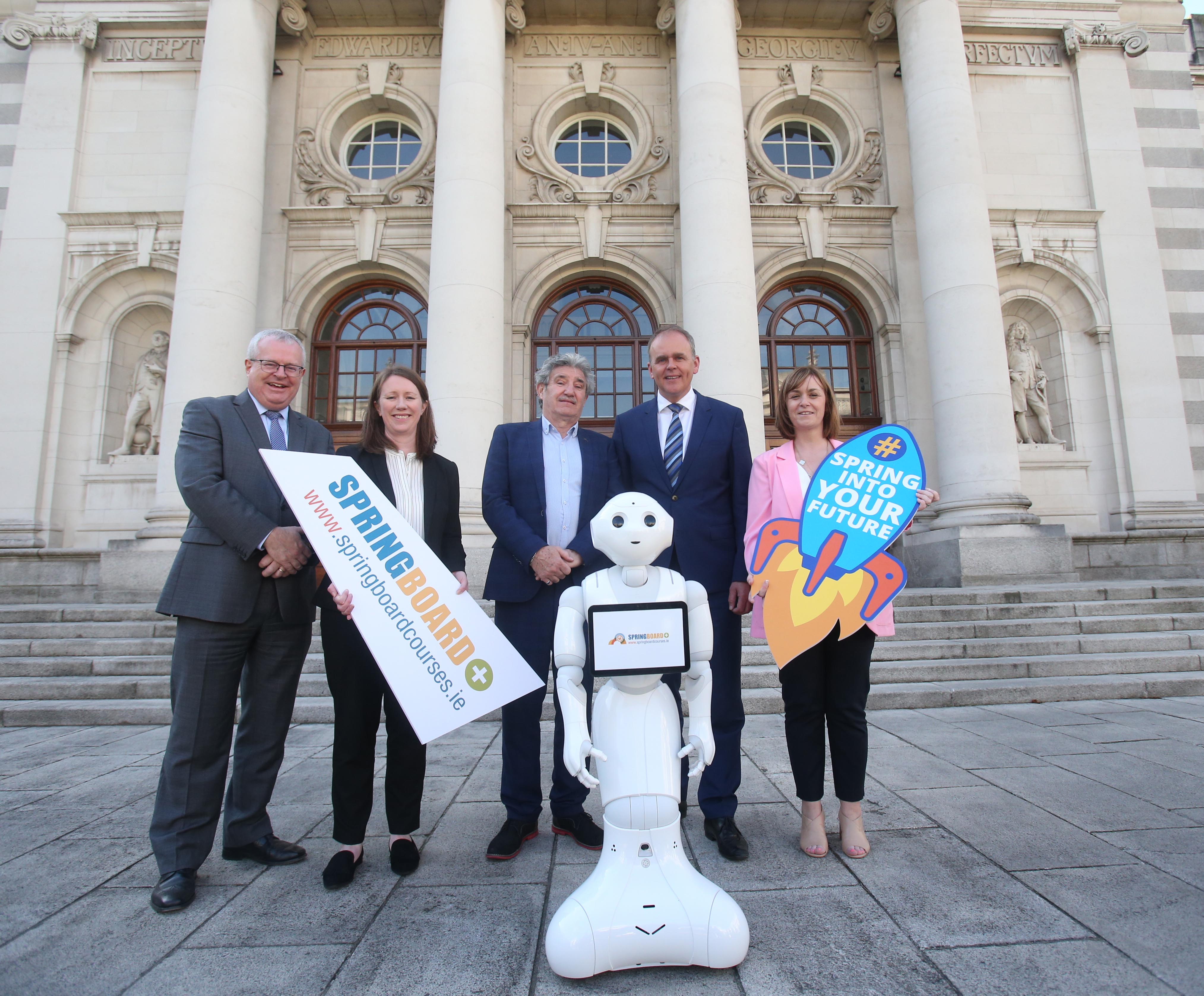 Government launches Springboard+ 2019
