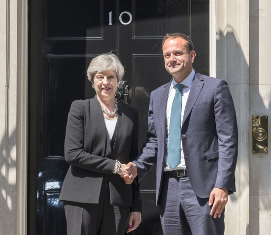 20170619 Taoiseach with PM Theresa May Post