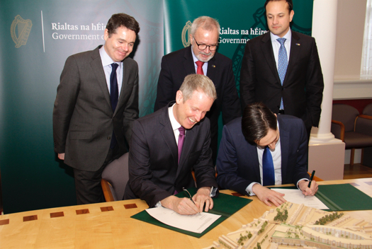 Signing of EIB funding for new Childrens' Hospital
