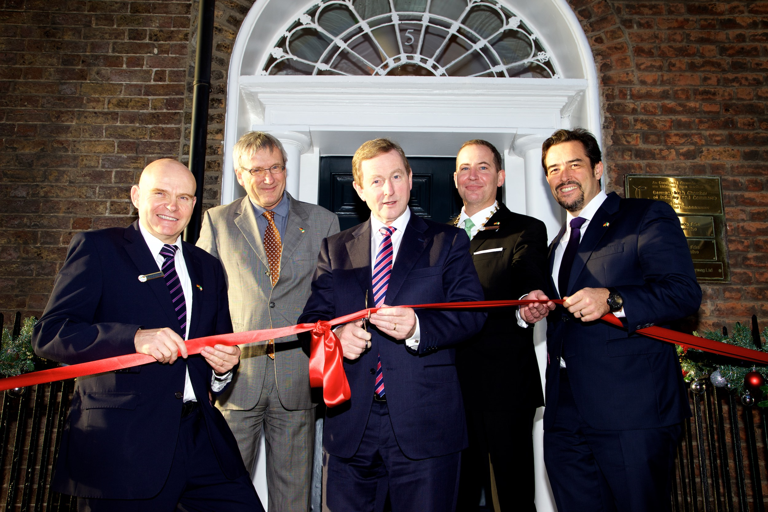 Taoiseach Opens German – Irish Chamber's New Office