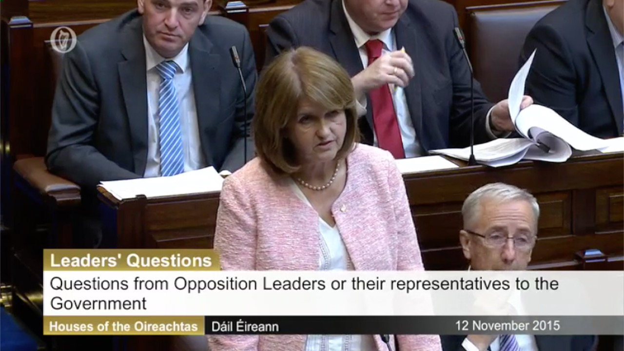 Leaders' Questions - 12th November 2015