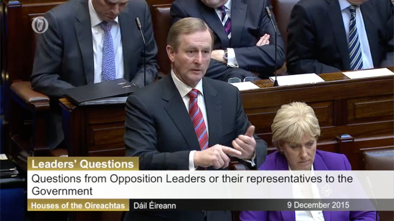 Leaders' Questions - 9th December 2015