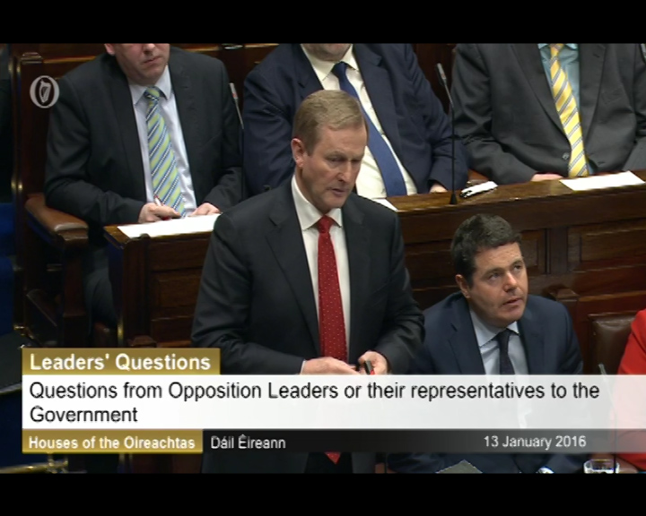 Leaders' Questions - 13th January 2016
