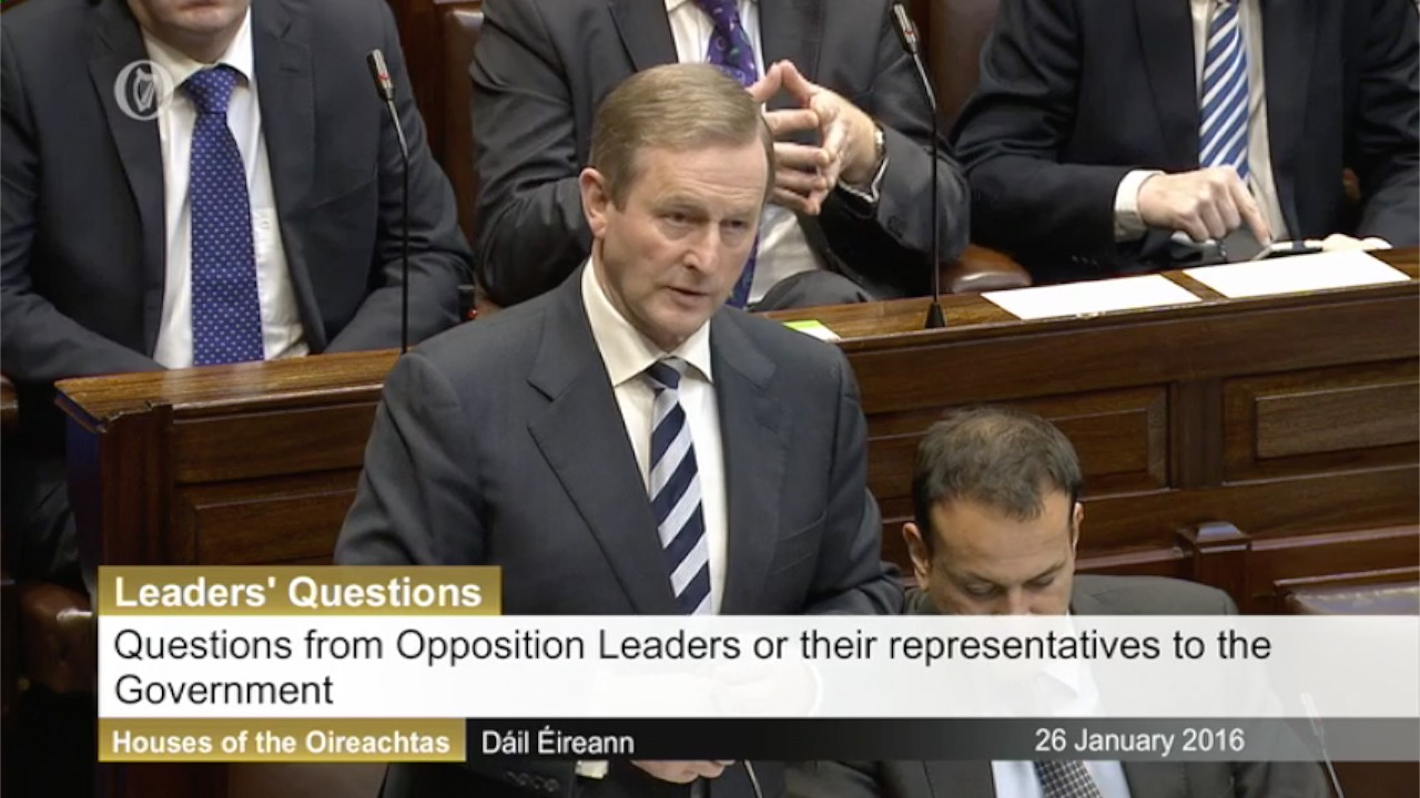 Leaders' Questions - 26th January 2016