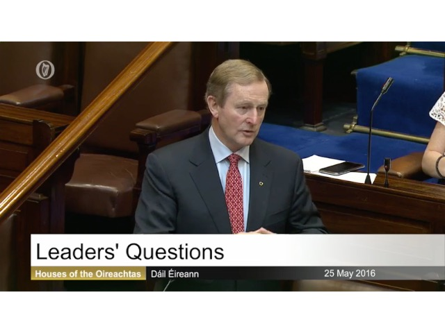 Leaders' Questions - 1st June 2016