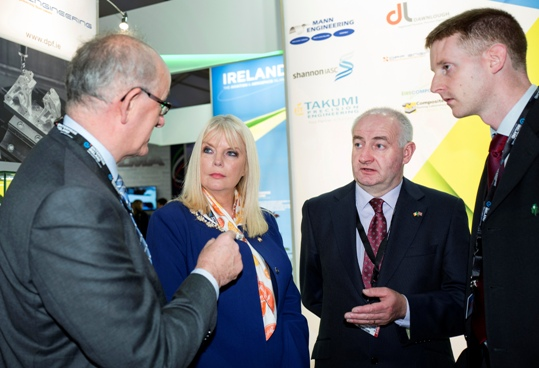 Enterprise Ireland's first pavilion at Farnborough Airshow