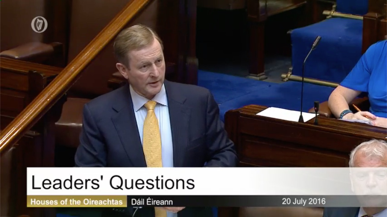 Leaders' Questions - 19th October 2016