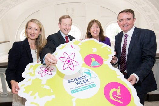 Taoiseach Calls on Organisations to Take Part in Science Week