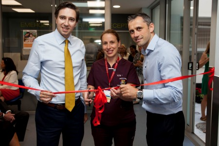 Harris opens newly extended Emergency Department at Temple Street