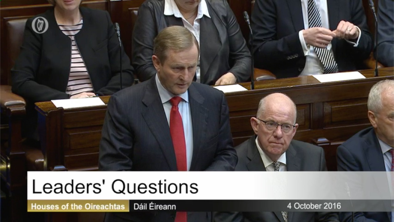Leaders' Questions 4th October 2016