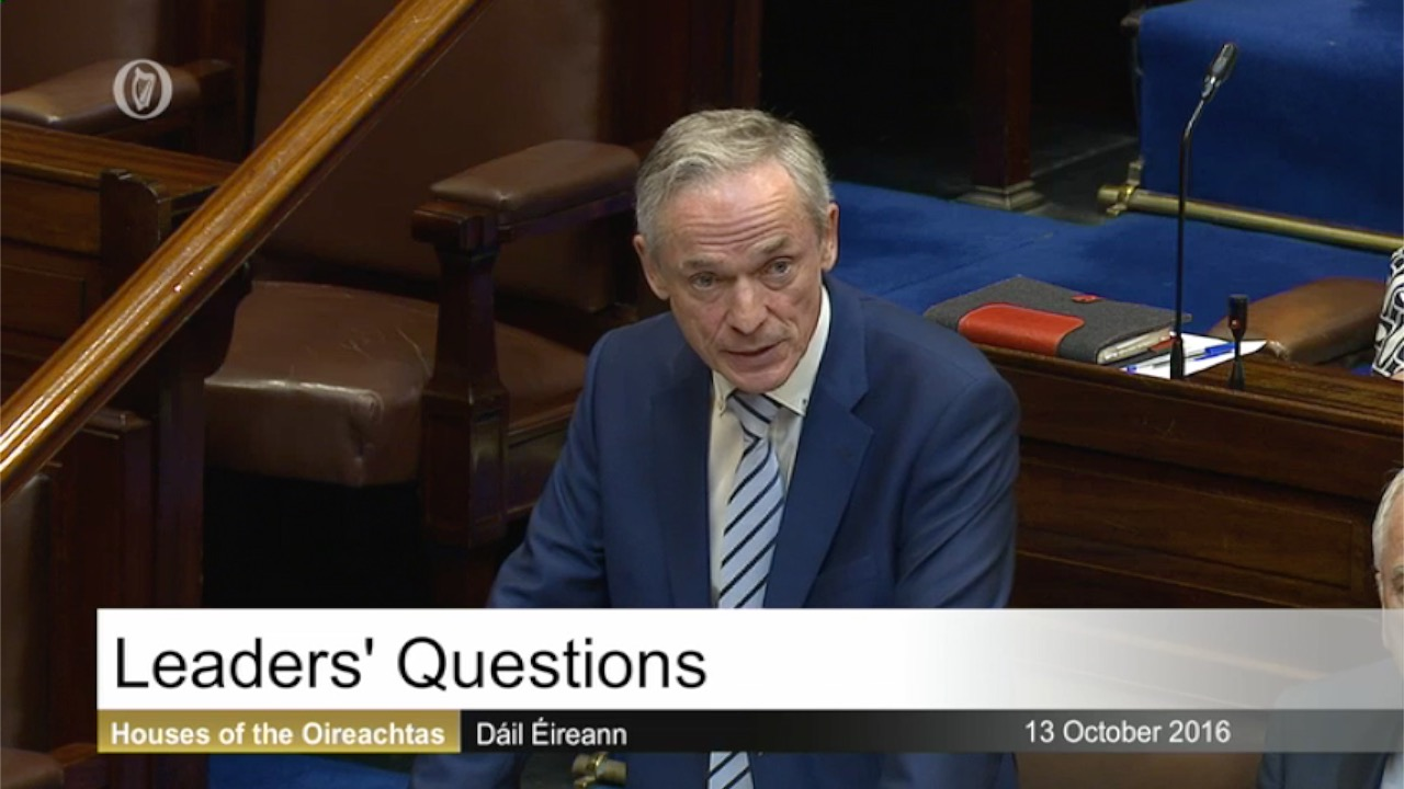 Leaders' Questions - 13th October 2016