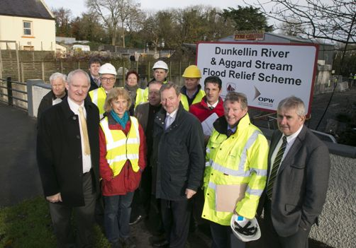 Taoiseach visits €6m Flood Relief Scheme at Craughwell