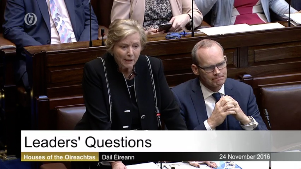Leaders' Questions - 24th November 2016