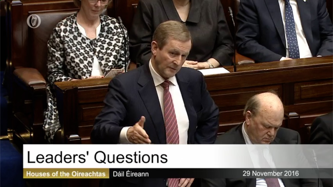 Leaders' Questions - 29th November 2016