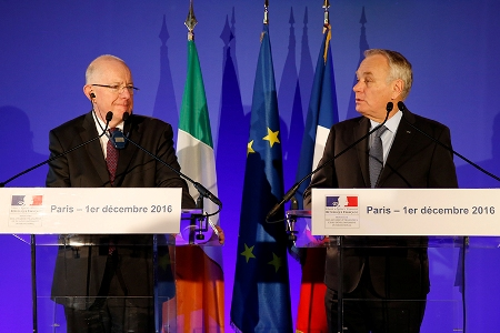 Flanagan commends positive talks with Minister Ayrault
