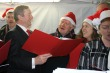 Taoiseach attends turning on of Oireachtas Christmas lights