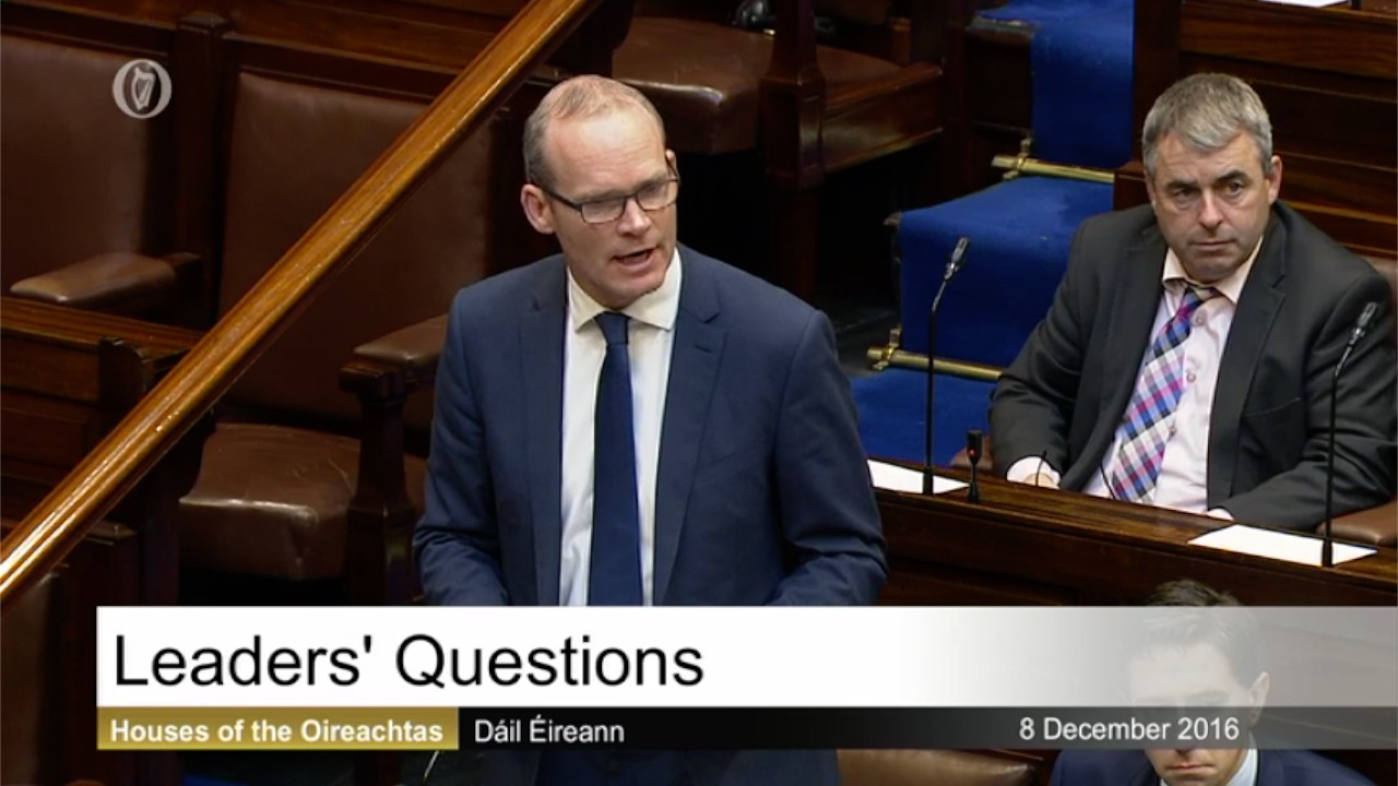 Leaders' Questions - 8th December 2016