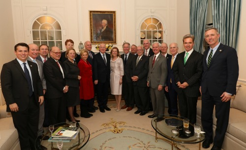 Minister Flanagan meets with the Congressional Friends of Ireland