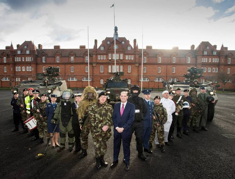 Major Recruitment drive for the Defence Forces Announced