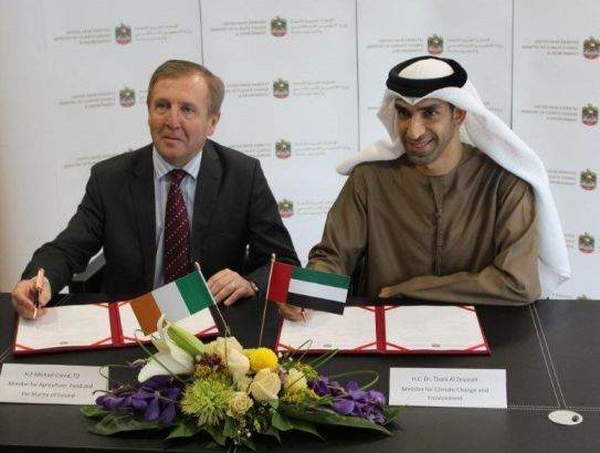 Creed Concludes Memorandum of Understanding on Future Cooperation with the United Arab Emirates
