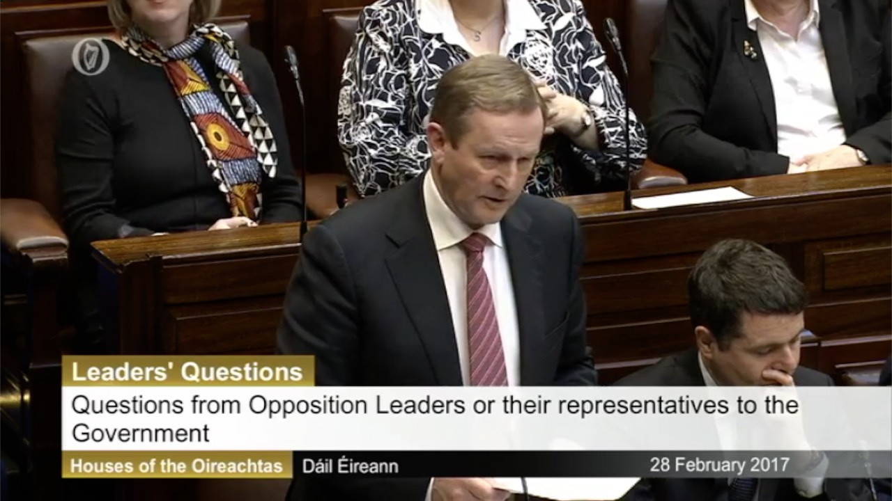 Leaders' Questions 28th February 2017