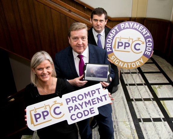 Minister Breen urges businesses to sign up to the Prompt Payment Code