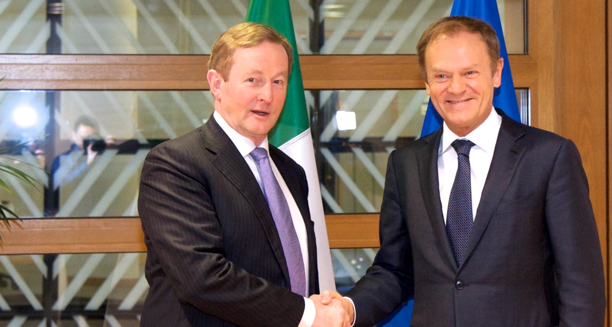 20170302 Taoiseach with Donald Tusk Spotlight