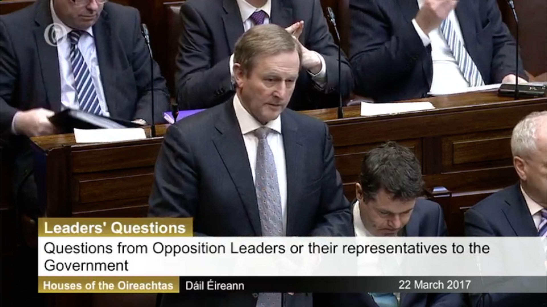 Leaders' Questions 22nd March 2017