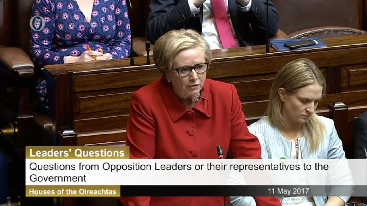 Leaders' Questions 11th May 2017