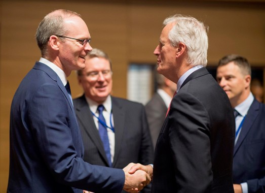 Minister Coveney meets with EU Chief Brexit Negotiator Michel Barnier