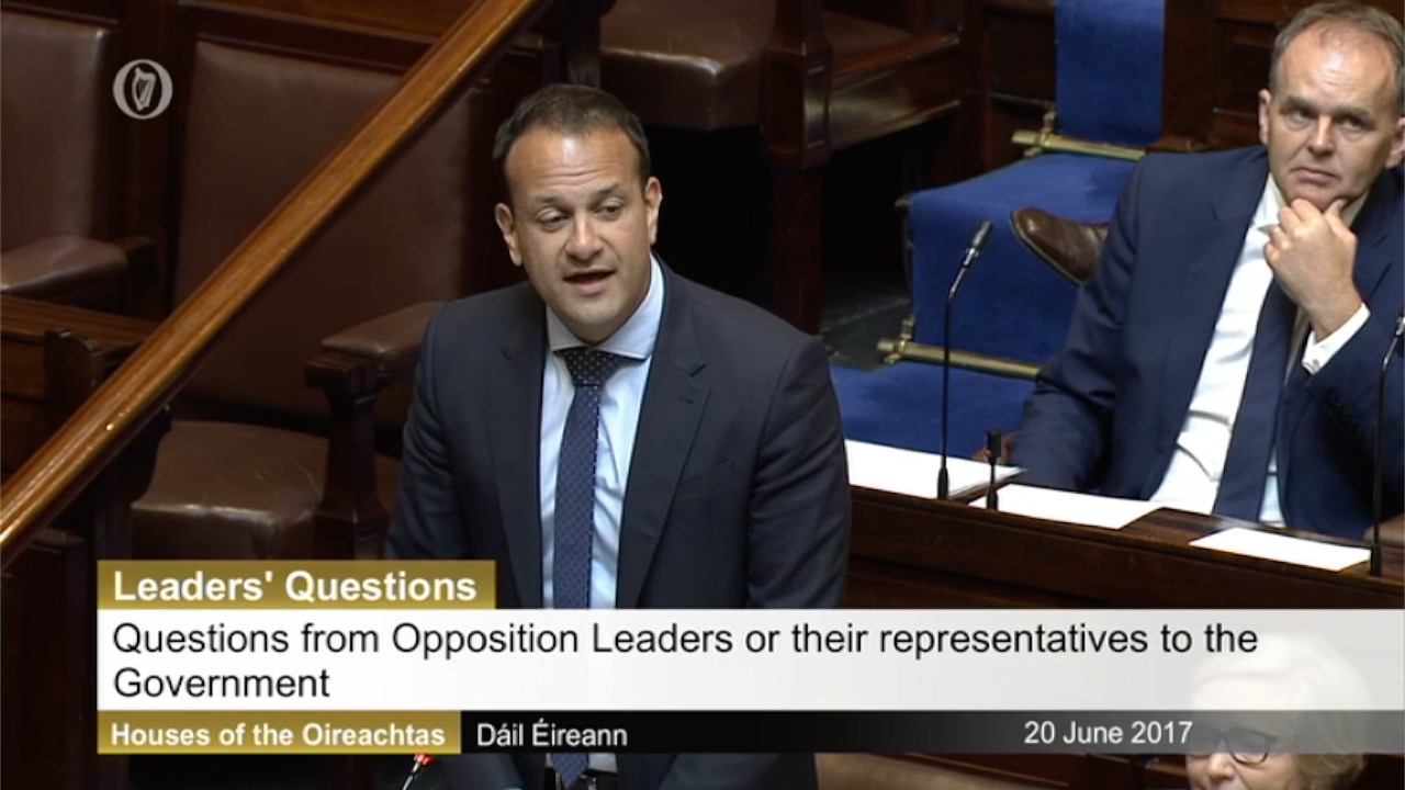Leaders' Questions 20th June 2017