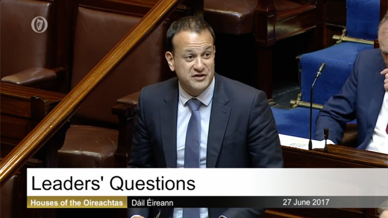 Leaders' Questions 27th June 2017