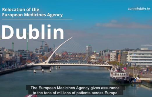 Ireland submits its bid to relocate the European Medicines Agency from London to Dublin