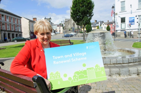 Minister Humphreys launches Town and Village Renewal Scheme