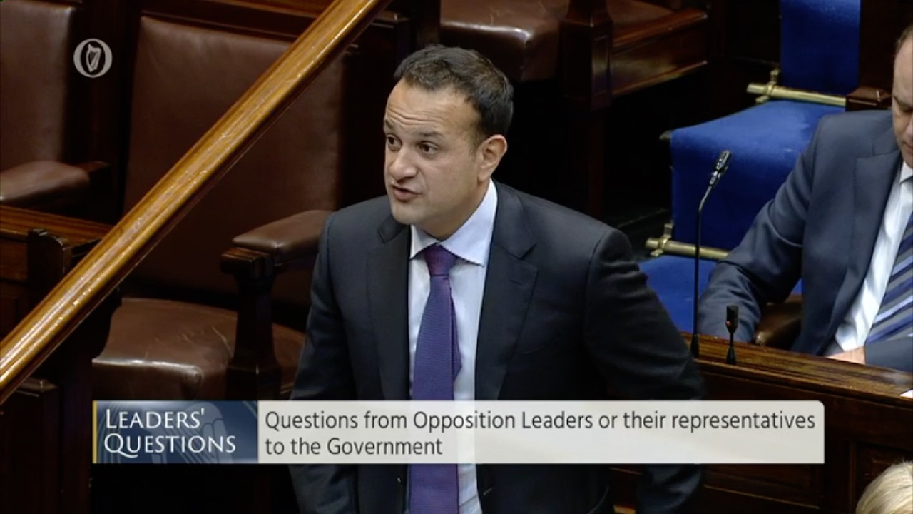 Leaders' Questions 20th September 2017