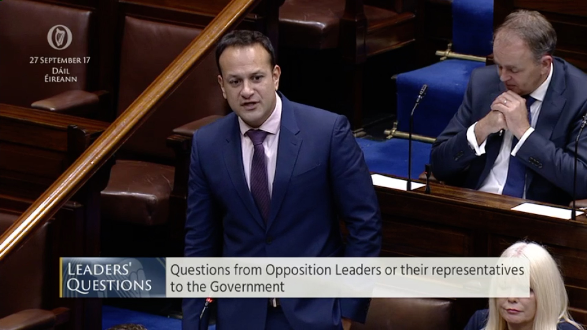 Leaders' Questions 27th September 2017