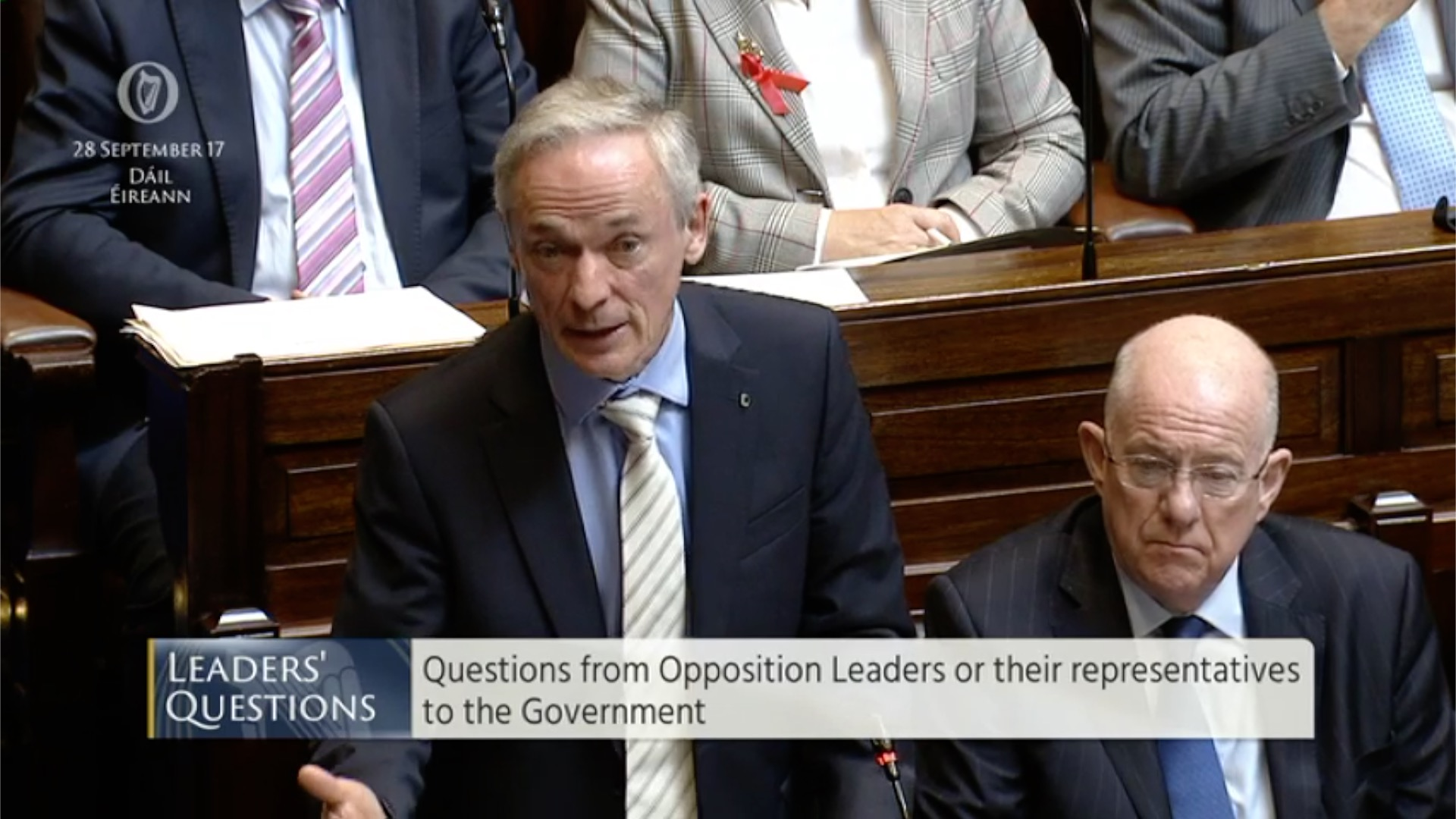 Leaders' Questions 28th September 2017